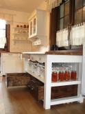 kuchnia  wiejska ręcznie malowana