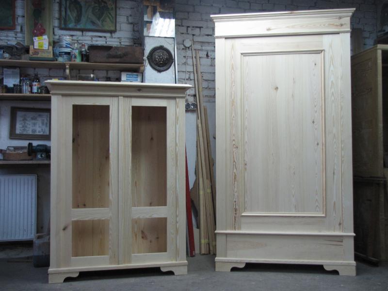 meble i przedmioty malowane zdobione bielone